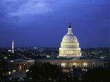 Capitol Building, Washington, D.C., USA Lámina fotográfica