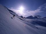 Chugach Mountains Alaska, USA Reproduction photographique