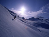 Chugach Mountains Alaska, USA Lámina fotográfica