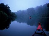 Kayaking on the Monomoy River, Cape Cod, Harwich, Massachusetts, USA Impressão fotográfica por Jerry & Marcy Monkman