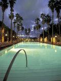 Delano Hotel, South Beach, Miami, Florida, USA Photographic Print by Robin Hill