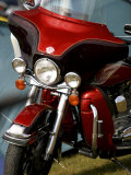 Harley Davidson Motorcycle Reproduction photographique