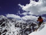 Snowbird Utah, USA Reproduction photographique