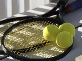 Tennis Still Life Photographic Print