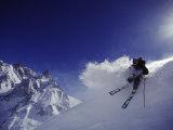 Chamonix, Frankrike Fotografisk trykk