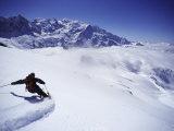 Chamonix, Francia Stampa fotografica