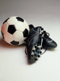 Soccer Still Life Fotografisk trykk
