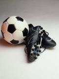 Soccer Still Life Lámina fotográfica