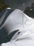 Mont Blanc, France Fotografisk trykk