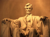 Lincoln Memorial, Washington, D.C., USA Lámina fotográfica
