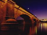 London Bridge, Lake Havasu City, Arizona, USA Lámina fotográfica