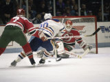 Ice Hockey East Rutherford, New Jersey, USA Reproduction photographique