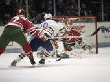 Ice Hockey East Rutherford, New Jersey,  USA Lámina fotográfica