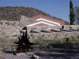Taliesin West by Frank Lloyd Wright, Arizona, USA Lámina fotográfica