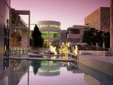 Getty Center, Los Angeles, California, USA Lámina fotográfica