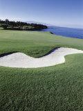 Mauna Kea Golf Course, Hawaii, USA Lámina fotográfica