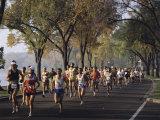 Marathon Race Minneapolis Minnesota, USA Fotografisk tryk