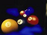 Pool Balls Lámina fotográfica