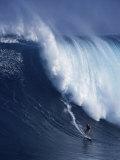 Peahi Maui, Hawaii, USA Fotografisk trykk