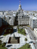 Salvo Palace Independence Plaza Montevideo Uruguay Lámina fotográfica