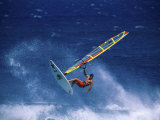 Windsurfing Photographic Print
