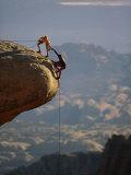 Bjergbestigning Fotografisk tryk