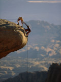 Bergbeklimmen Fotoprint
