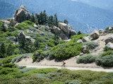Bicycling in a Fabulous Landscape Fotografisk trykk