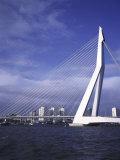 Erasmus Bridge, Rotterdam, Netherlands Lámina fotográfica