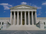 U.S. Supreme Court, Washington, D.C., USA Lámina fotográfica