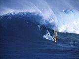 Windsurfer Surfing Lámina fotográfica