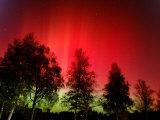 Northern Lights Glow Fotografisk trykk