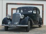 Antique Mercedes, Germany Fotografisk trykk av Russell Young