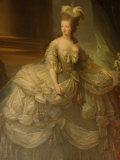 Portrait of Marie Antoinette, Versailles, France Fotoprint van Lisa S. Engelbrecht