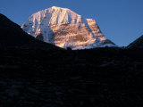 First Light on Mt. Kailash, Tibet Photographic Print by Vassi Koutsaftis