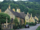 Village of Stanton, Cotswolds, Gloucestershire, England Reproduction photographique par Nik Wheeler