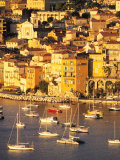Villefranche-sur-Mer, Cote d'Azur, France Reproduction photographique par David Barnes