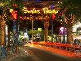 Surfers Paradise Sign, Gold Coast, Queensland, Australia Reproduction photographique par David Wall