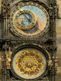 The Astronomical Clock, Prague, Czech Republic Fotografisk trykk av Russell Young