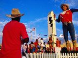 Big Tex', Texas State Fair, Dallas, United States of America Fotografisk tryk af Richard Cummins