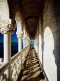 Balcony of Torre De Belem, Lisbon, Portugal Fotografisk tryk af Izzet Keribar