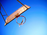 Worn Basketball Hoop, Copenhagen, Denmark Fotografisk trykk av Martin Lladó