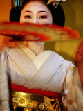 Maiko Dancer, Kyoto, Japan Photographic Print by Frank Carter