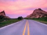 Scotts Bluff National Monument, United States of America Fotografisk tryk af Richard Cummins