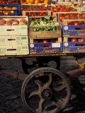 Campo de Fiori Market, Rome, Italy Fotografie-Druck von Connie Ricca