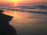 Sunrise over Outer Banks, Cape Hatteras National Seashore, North Carolina, USA Photographic Print by Scott T. Smith