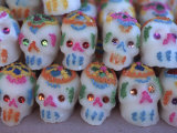Day of the Dead, Sugar Skull Candy at Abastos Market, Oaxaca, Mexico Photographic Print by Judith Haden