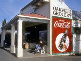 Oakville Grocery, Oakville, Napa Valley, California, USA Reproduction photographique par Janis Miglavs