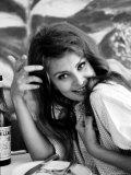 Actress Sophia Loren Impressão fotográfica premium por Alfred Eisenstaedt