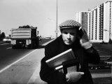 Pianist Glenn Gould Premium fotoprint van Alfred Eisenstaedt